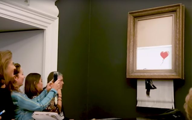 Banksy Grabs Headlines, Even As Millions Of Masterpieces Shredded Daily