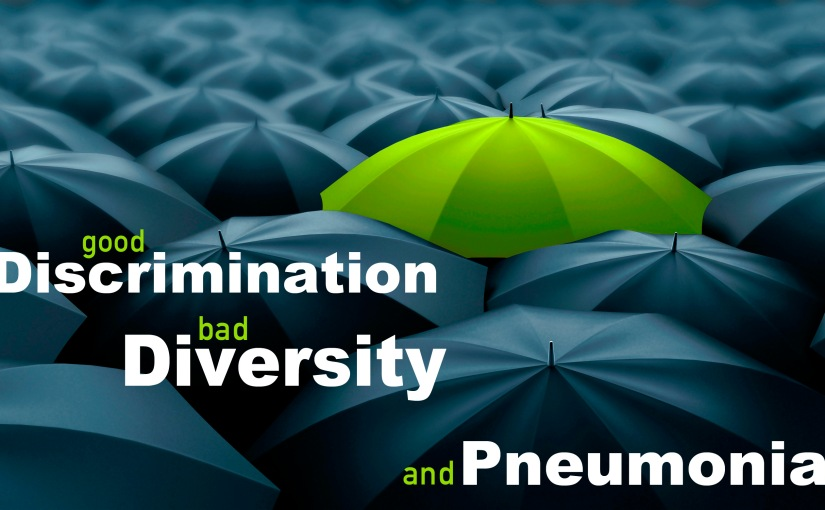 Good Discrimination, Bad Diversity, and Pneumonia