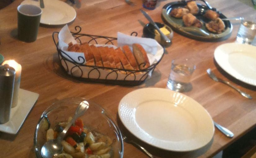 The <del>Nutritional</del> Relational Value Of Food (Why Our Family EatsTogether)